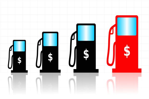 La gasolina la clase a motor de la carga