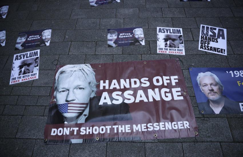 El martirio de Julian Assange