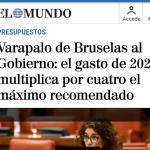 Atentos a esta fake news económica del diario El Mundo